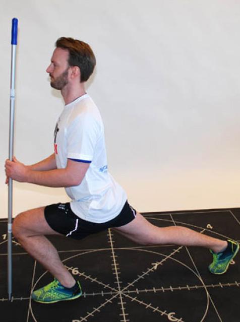 Viser tips til tøyning av hofteleddsbøyere