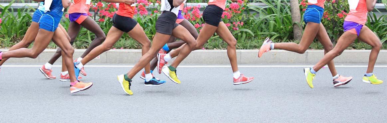 Bannerbilde av løpere