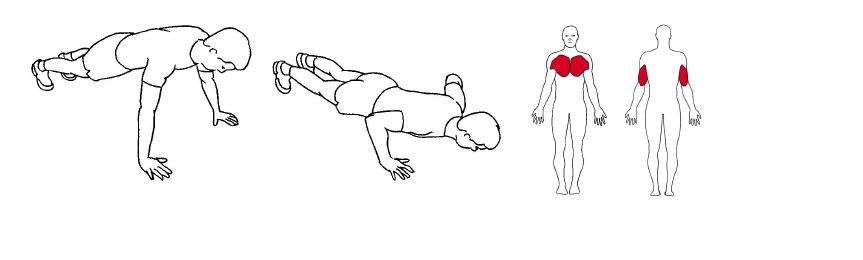 Slik utføres pushups