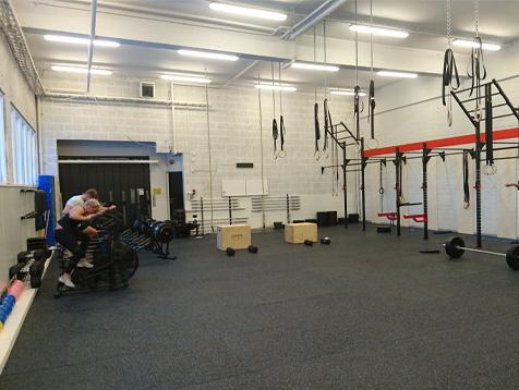 Crossfit Lørenskog treningsstudio med treningsapparater