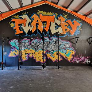 Flateby Functional Fitnessklubb med rigger