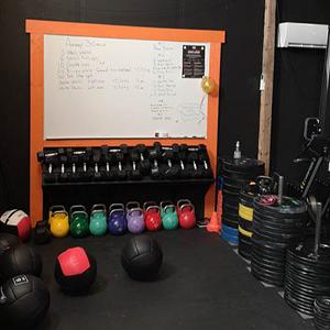 Flateby Functional Fitnessklubb WOD tavle
