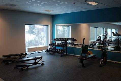 Frogner I.L treningsrom frivektsområde med manualer