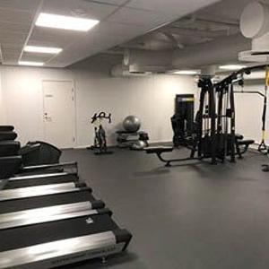 LogTec AS treningsrom med treningsapparater