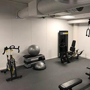 LogTec AS treningsrom fitnessområde