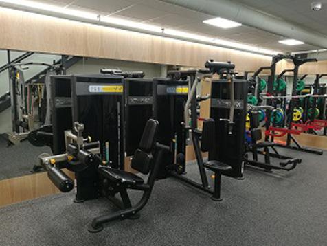 Eiendomshuset Malling treningsrom