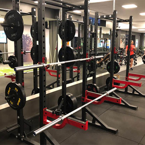 Powercages hos Nr.1 Fitness Skien