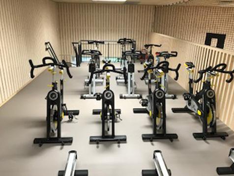 Odda VGS treningsrom spinningsal