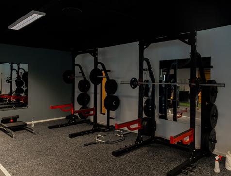 Robust trening half rack styrkeapakke