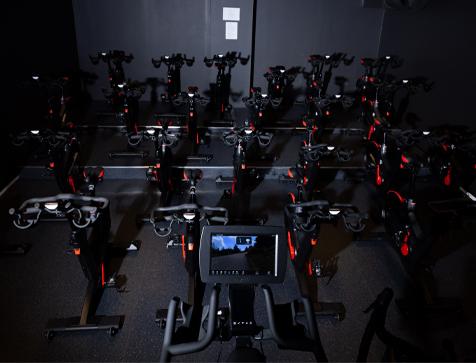 Robust trening spinningsykkel sal