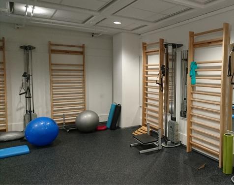 Rykkinn Fysioterapi og Trening treningsrom fitnessavdeling