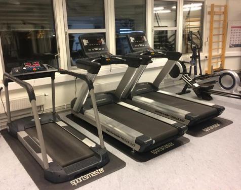 Rykkinn Fysioterapi og Trening treningsrom med tredemøller