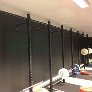Wang Toppidrett treningsrom med veggmonterte rigger