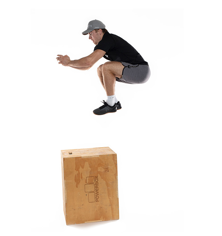 Aleksander Aamodt Kilde viser Box jump 1