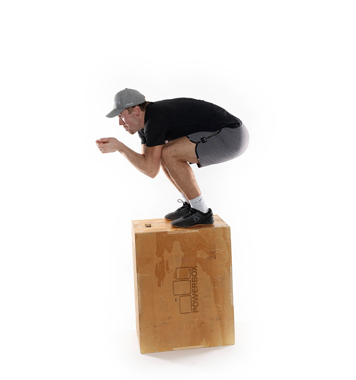 Aleksander Aamodt Kilde viser Box jump 2