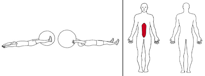 Illustrasjons bilde av foldekniven med ball