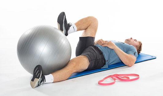 Gymballøvelse