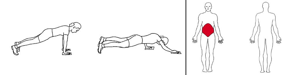 Illustrasjons bilde av diagonale drag med slides