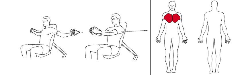 Illustrasjonsbilde av Sittende flyes med trekkapparat