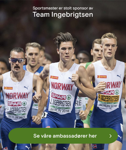 Team Ingebrigtsen ambassadører