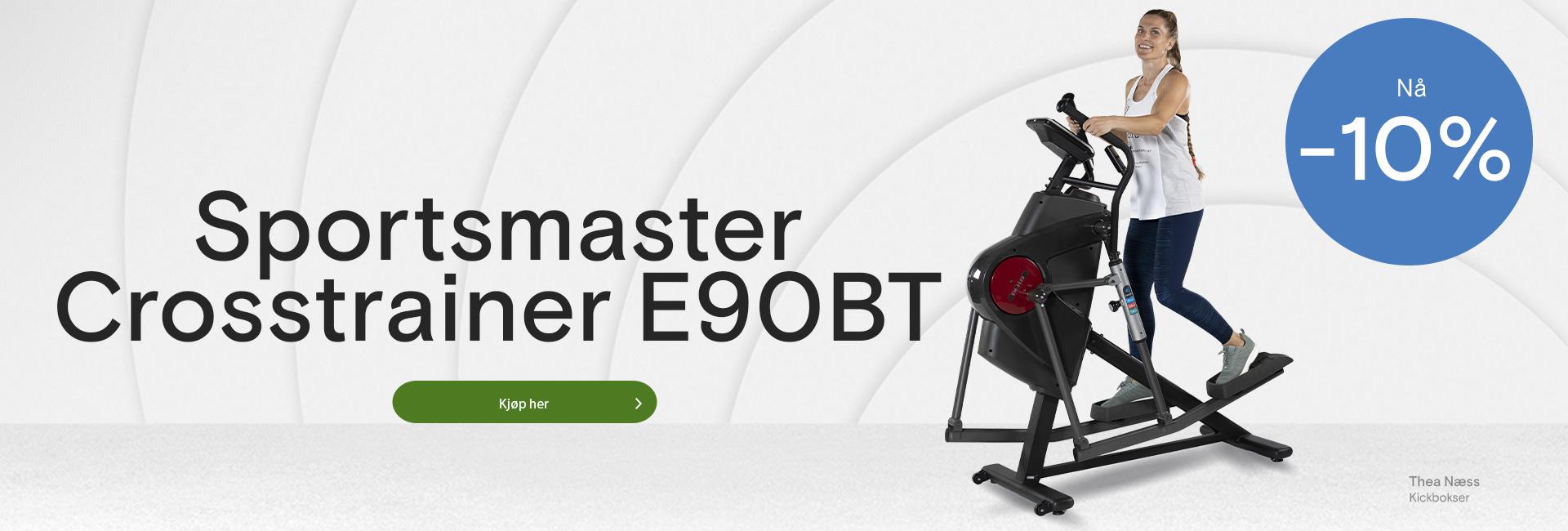 Sportsmaster crosstrainer E90BT