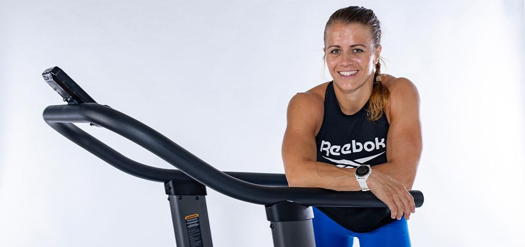 Kristin Holte bruker AirRunner i treningen
