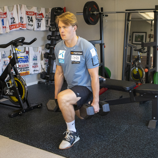 Atle Lie McGrath trener styrke