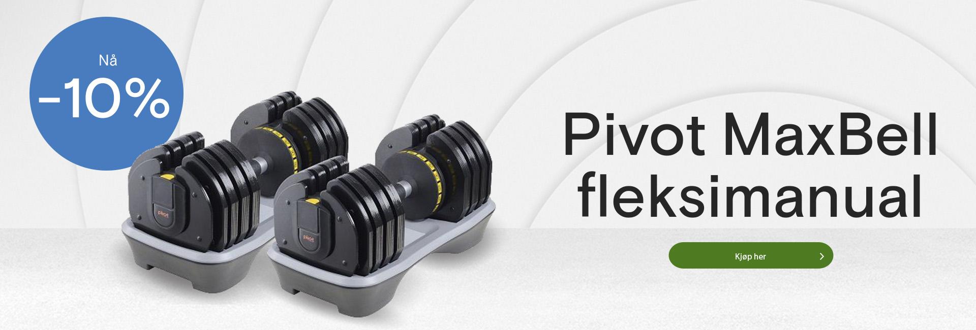 Tilbud på Pivot Maxbell fleksimanual