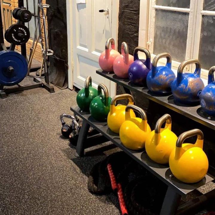 Bilde av kettlebells hos Gunns trening